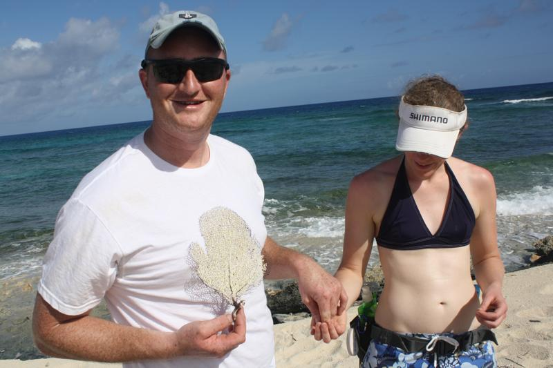 Successful beach-combing, Coral Fan